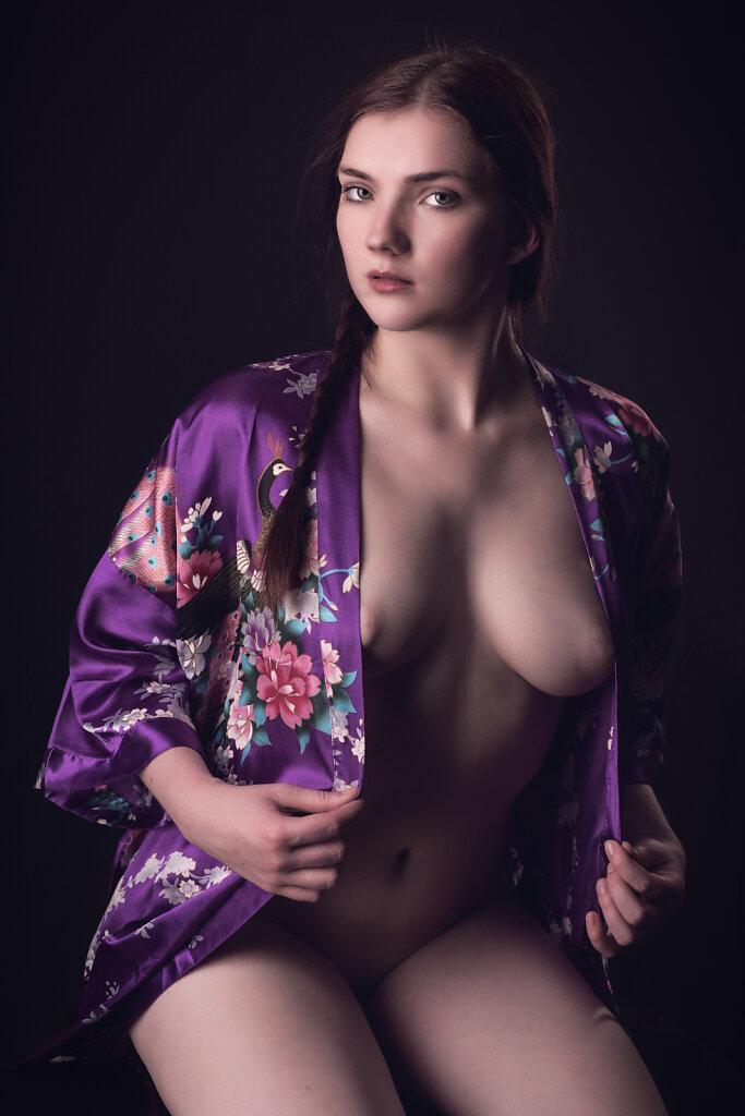 Sinnlich im Kimono