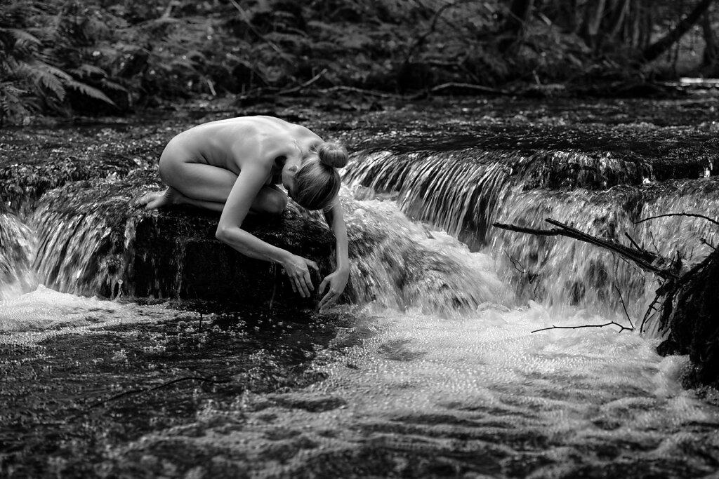 Spüre das Wasser